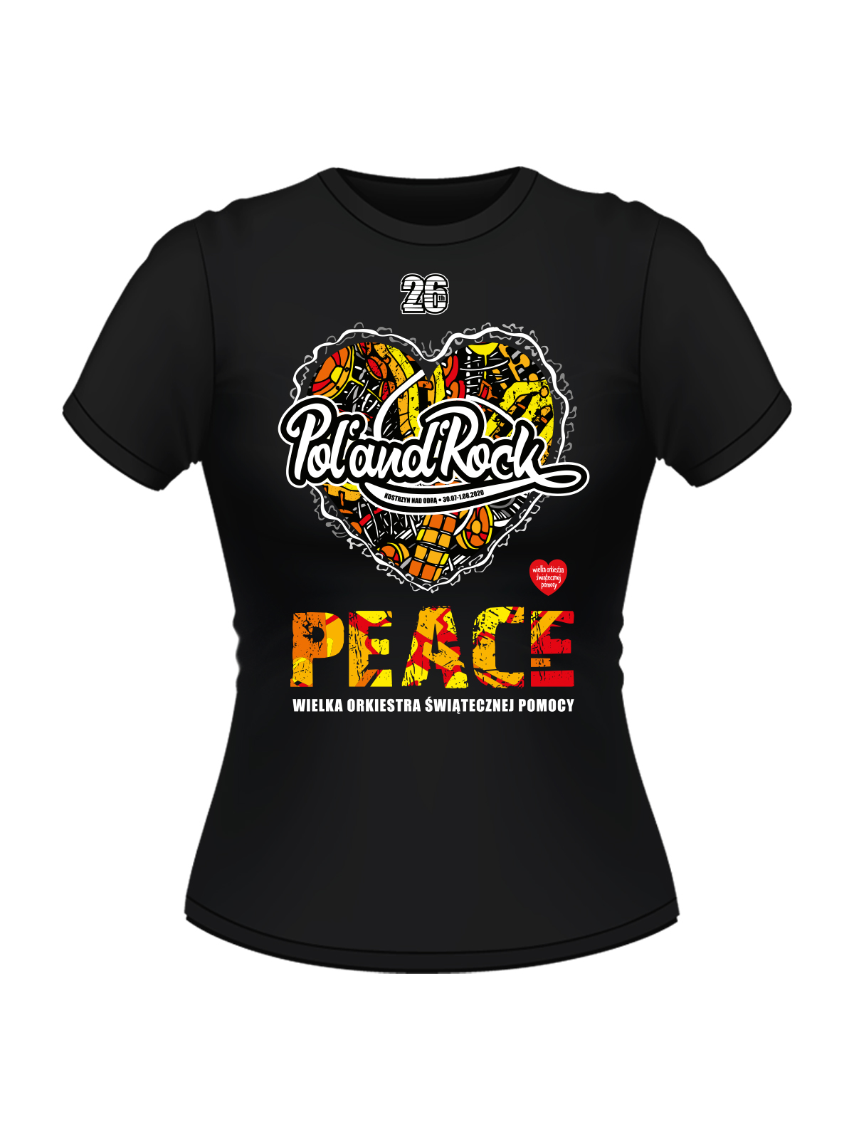 T-shirt damski -  Peace
