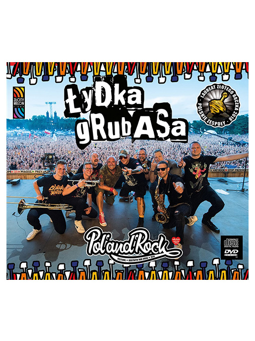 CD+DVD Łydka Grubasa 2019