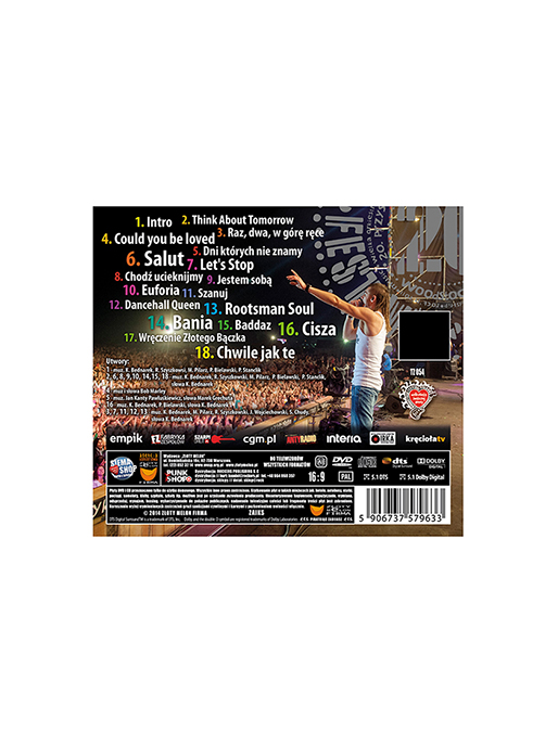 Kamil Bednarek - CD+DVD - 20 PW - 2014