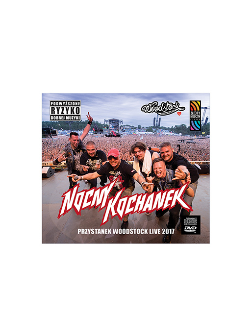 Nocny Kochanek - PW 2017 - CD + DVD