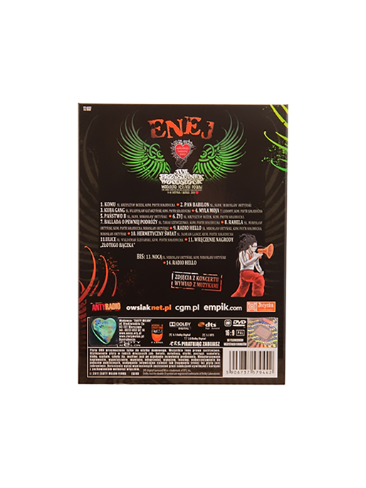Enej  - CD+DVD - 17 PW - 2011