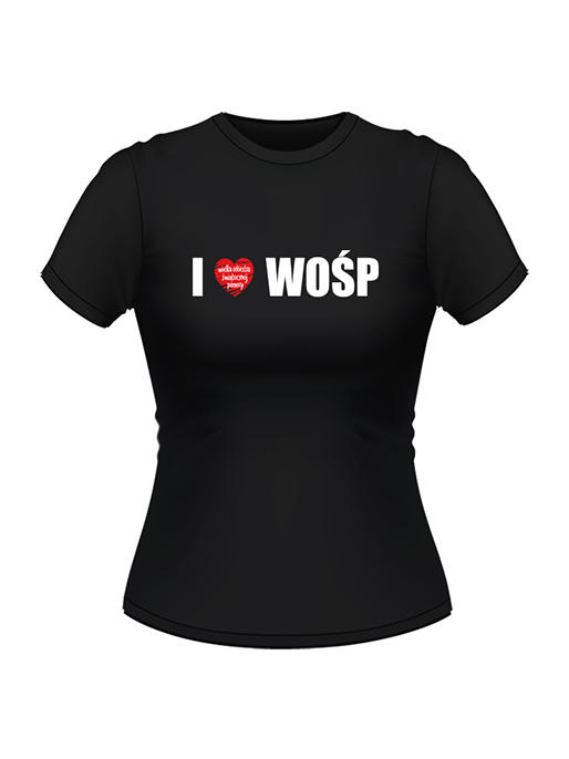 Love WOŚP - t-shirt damski