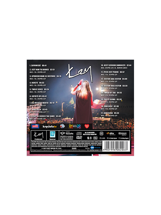 ŁZY - CD+DVD - 22 PW - 2016