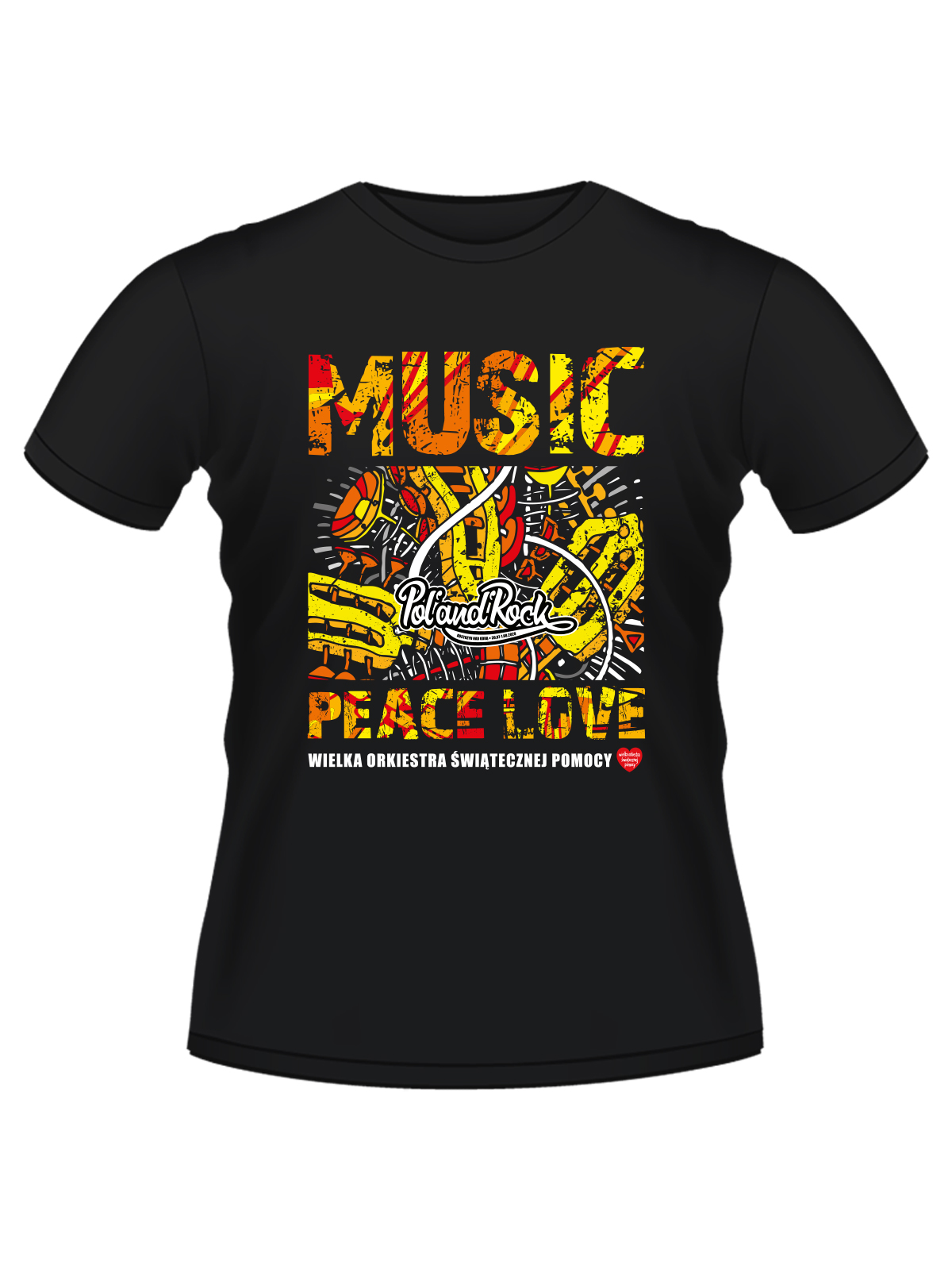 T-shirt męski - Peace